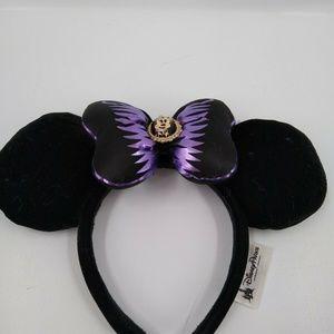 Disney Parks purple skeleton Minnie Mouse